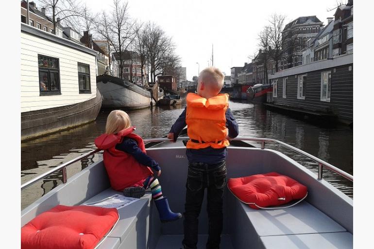 Bootje Varen In Groningen