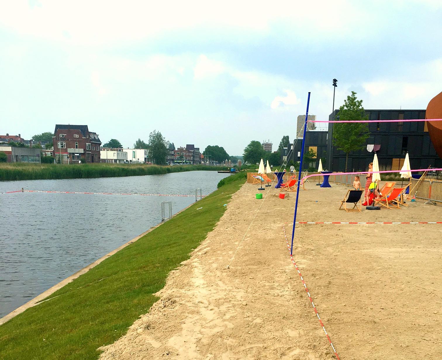 Stadsstrand Groningen: Zwemmen In De Stad!