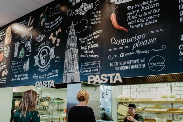 De Pastafabriek | Huisgemaakte Pasta & Pizza