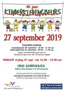 Kinderkledingbeurs Paterswolde @ Dorpshuis Paterswolde   Paterswolde   Drenthe   Nederland