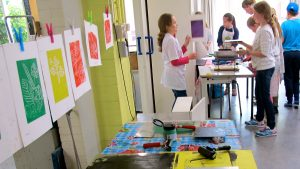 Kindercursus Druktechnieken (8-12 jaar)   VRIJDAG @ VRIJDAG   Groningen   Groningen   Nederland