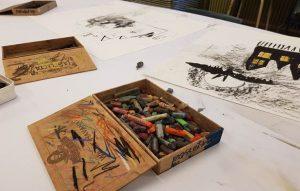 Tekenen en schilderen (6-9 jaar)   VRIJDAG @ VRIJDAG   Groningen   Groningen   Nederland
