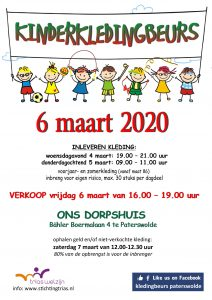 Kledingbeurs Paterswolde @ Ons Dorpshuis | Paterswolde | Drenthe | Nederland